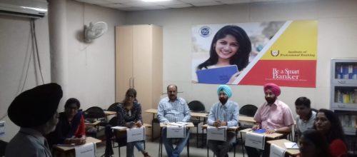A Session in progress at IPB, Panchkula