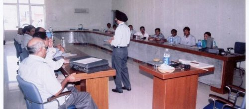 Training Session on ,Developing Effective Customer Orientation, at Malwa Industries, Ludhiana